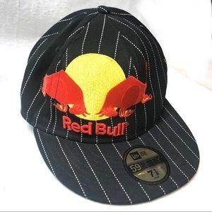 New Era 59fifty Men's RED BULL Skater Sport's Cap